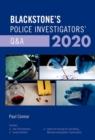 Image for Blackstone's police investigators' Q&A 2020