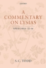 Image for A commentary on Lysias, speeches 12-16