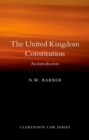 Image for The United Kingdom constitution  : an introduction