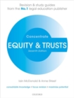 Image for Equity & trusts  : law revision and study guide