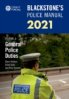 Image for Blackstone's police manuals 2021Volume 4,: General police duties