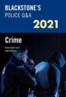 Image for Blackstone's police Q&A 2021Volume 1,: Crime