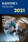 Image for Blackstone's police Q&A 2021Volume 2,: Evidence and procedure