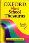 Image for Oxford mini school thesaurus