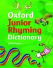 Image for Oxford junior rhyming dictionary