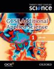Image for GCSE additional applied science1: Life care