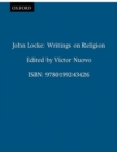 Image for Writings on religion