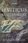 Image for Leviticus as literature