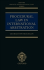 Image for Procedural law in international arbitration