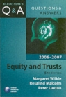 Image for Equity & trusts 2006-2007