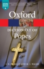 Image for A dictionary of popes