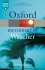 Image for A dictionary of weather