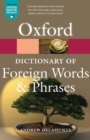 Image for Oxford dictionary of foreign words and phrases