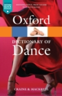 Image for The Oxford dictionary of dance