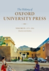 Image for The history of Oxford University PressVolume IV,: 1970 to 2004