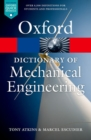 Image for A dictionary of mechanical engineering