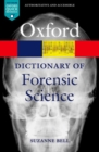 Image for A dictionary of forensic science