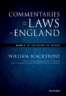 Image for The Oxford edition of Blackstone - Commentaries on the laws of EnglandBook II,: Of the rights of things