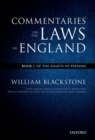 Image for The Oxford Edition of Blackstone's: Commentaries on the Laws of England : Book I, II, III, and IV