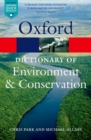 Image for A dictionary of environment and conservation