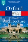 Image for The Oxford dictionary of architecture