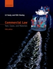 Image for Commercial law  : text, cases, and materials