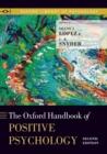 Image for Oxford handbook of positive psychology