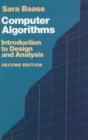 Image for Computer Algorithms : Introduction to Design and Analysis