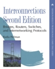 Image for Interconnections  : bridges, routers, swithces, and internetworking protocols