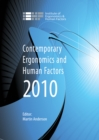 Image for Contemporary ergonomics and human factors 2010: proceedings of the International Conference on Contemporary Ergonomics and Human Factors 2010, Keele, UK