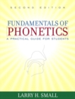 Image for Fundamentals of Phonetics : A Practical Guide for Students