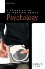 Image for A short guide to writing about psychology