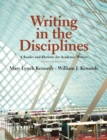 Image for Writing in the disciplines  : a reader and rhetoric for academic writers