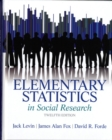 Image for Elementary statistics in social research