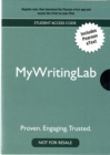 Image for New MyWritingLab with Pearson eText - Valuepack Access Card