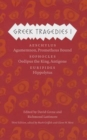 Image for Greek tragedies1,: Aeschylus : Agamemnon, Prometheus Bound; Sophocles: Oedipus the King, Antigone: Euripides: Hippolytus