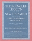 Image for A Greek-English Lexicon of the New Testament and Other Early Christian Literature