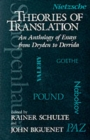 Image for Theories of Translation : An Anthology of Essays from Dryden to Derrida