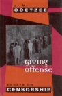 Image for Giving offense: essays on censorship