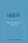 Image for NBER macroeconomics annual 2015