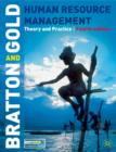 Image for Human resource management  : theory and practice