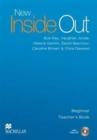 Image for New inside out: Beginner Teacher's book