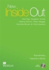 Image for New inside out: Elementary Teacher's book