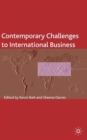 Image for Contemporary challenges to international business