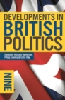 Image for Developments in British politics 9