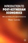 Image for An introduction to post-Keynesian economics