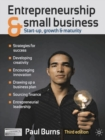 Image for Entrepreneurship and small business  : start-up, growth and maturity