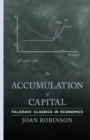 Image for The accumulation of capital