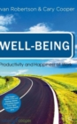 Image for Well-being  : productivity and happiness at work
