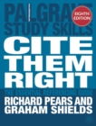 Image for Cite them right  : the essential referencing guide